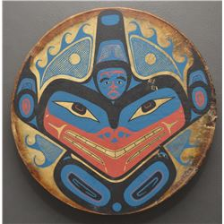 TLINGIT INDIAN DRUM