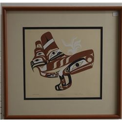 NUU-CHAH-NULTH INDIAN PRINT (TOM PAUL)