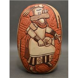 HOPI INDIAN POTTERY SEED JAR (MARTY AND ELVIRA NAHA NAMPEYO)