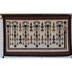 NAVAJO INDIAN TEXTILE (MARYLIN BLACKIE)