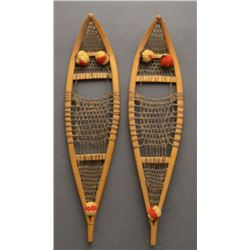 CREE INDIAN MINIATURE SNOW SHOES