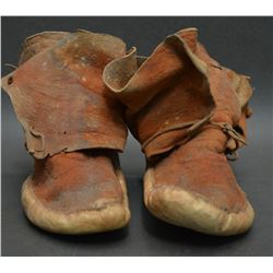NAVAJO INDIAN CHILDREN'S MOCCASINS