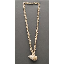 HOHOKAM INDIAN SHELL BEAD NECKLACE