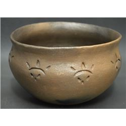 PICURIS INDIAN POTTERY BOWL (IRENE SIMBOLO)