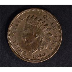 1859 INDIAN HEAD CENT, CH BU