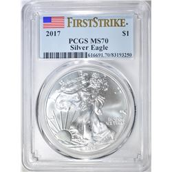 2017 ASE FIRST STRIKE PCGS MS-70