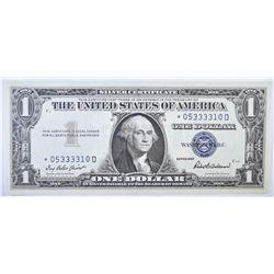 1957 $1 SILVER CERTIFICATE FR 1619