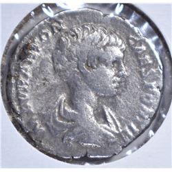 211-217AD SILVER DENARIUS  EMPEROR CARACALLA ROME