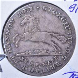 1829 SILVER 16 GROSHED BRUNSWICK-LUNENBURG CH BU