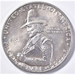 1921 PILGRIM HALF DOLLAR COMMEM  GEM BU