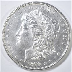 1878 8TF MORGAN DOLLAR  BU