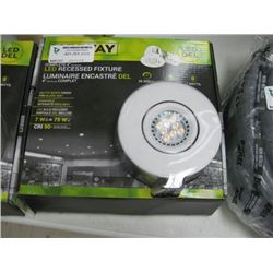 quality design e3ae4 62bd5 LUXWAY LED RECESSED FIXTURE 4 INCH