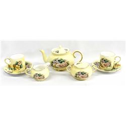 Hour of Power Fine Bone China Tea Set for Two