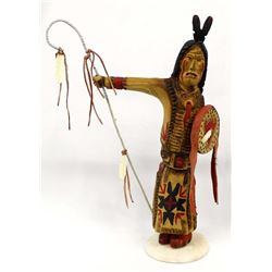 Lakota Sioux Wood Carving by Bear