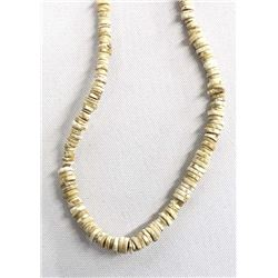Prehistoric Native American Shell Necklace