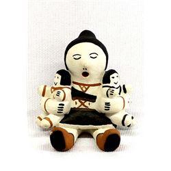 Cochiti Pottery Storyteller by Mary Pino