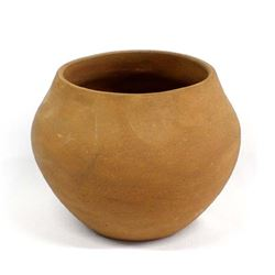 Zia Micaceous Clay Pottery Bowl by Petra Lucero