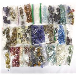 20+ Bags of Loose Beads for Jewelry Making