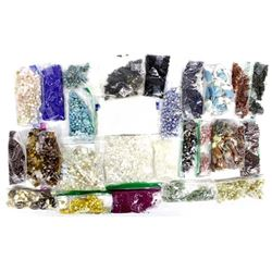 20 Bags of Loose Beads for Jewelry Making