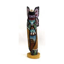 Hopi Butterfly Maiden Kachina by Lawrence Namoki