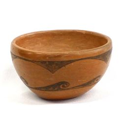 Vintage Hopi Water Design Pottery Bowl