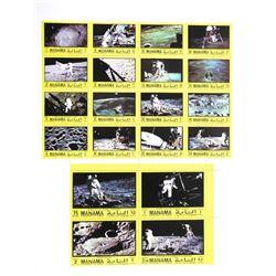 Lot of Apollo XI Stamps