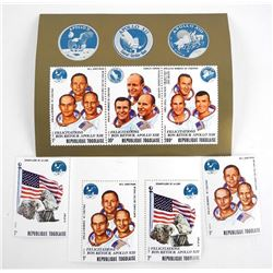Lot of Stamps - Apollo XI