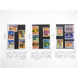 Lot of 15 Stamps - Apollo XI