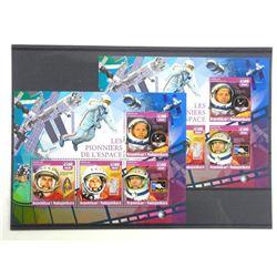 Lot of 8 Stamps - Apollo XI