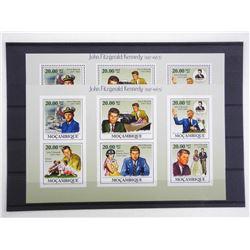 Lot of 12 Stamps - Apollo XI