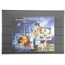 Lot of 2 Stamps - Apollo XI