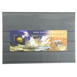 Lot of 4 Stamps - Apollo XI