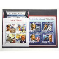 Lot of 13 Stamps - Apollo XI