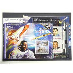 Lot of 17 Stamps - Apollo XI