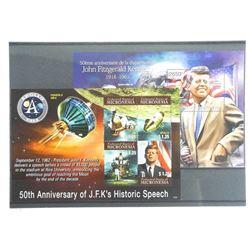 Lot of 5 Stamps - Apollo XI