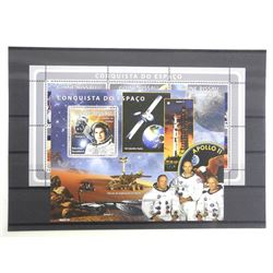 Lot of 7 Stamps - Apollo Mission