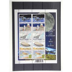 Lot of 10 Stamps - Apollo XI