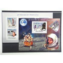 Lot of 14 Stamps - Apollo XI