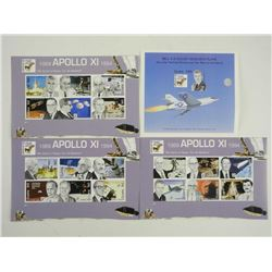 Lot of 19 Stamps - Apollo XI