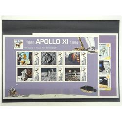 Lot of 30 Stamps - Apollo XI