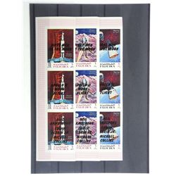 Lot of 27 Stamps - Apollo XI
