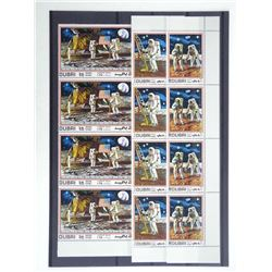 Lot of 12 Stamps - Apollo XI