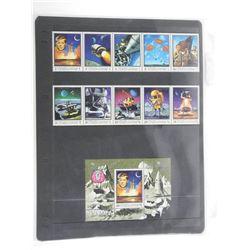 Lot of 11 Stamps - Yemen.
