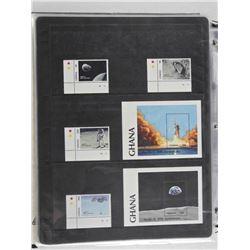 Lot of 6 Stamps - Ghana.