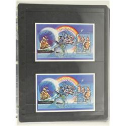 Lot of 2 Stamps - Apollo 11 Malagasy.