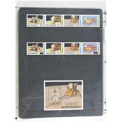 Lot of 9 Stamps - Montserrat.