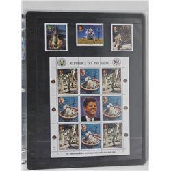 Lot of 12 Stamps - Republica Del Paraguay.