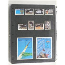 Lot of 10 Stamps - Uganda.