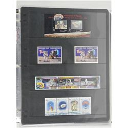 Lot of 13 Stamps - Bhutan, Burkina, Niue, Tuvalu.