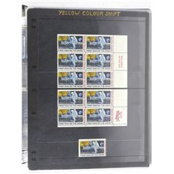 Lot of 11 Stamps - First Man on the Moon.